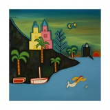 The Volcanic Island, 2008 Giclee Print by Cristina Rodriguez