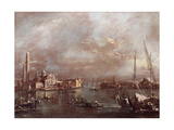 The Basin of Saint Mark's Square, with San Giorgio and the Giudecca, c.1774 Giclee Print by Francesco Guardi