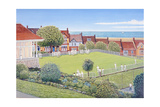 Bowls in Victoria Park, Portland, 2007 Giclee Print by Liz Wright