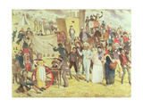 Bank Holiday or the Fun of the Fair Giclee Print by Charles Altamont Doyle