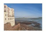Weston Sands, Summer Afternoon, 1007 Giclee Print by Peter Breeden