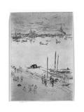 Upright Venice, 1879-80 Giclee Print by James Abbott McNeill Whistler