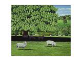 Dorset Parkland, 2007 Giclee Print by Liz Wright