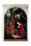 The Nativity, 1540 Giclée-tryk af Giovanni Girolamo Savoldo
