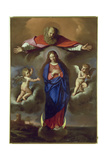The Immaculate Conception Giclee Print by  Guercino (Giovanni Francesco Barbieri)