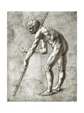 Study of a Man Giclee Print by  Leonardo da Vinci