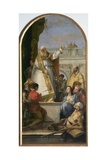 Saint Patrick, Bishop of Ireland Giclee Print by Giovanni Battista Tiepolo
