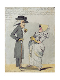 """I Declare Doctor, You Look Charmingly, the Bethe (sic) Waters Have Restored Your Good Looks… Gicleetryck av John Nixon"