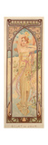 The Times of the Day: Brightness of Day, 1899 Giclee Print by Alphonse Mucha