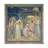 Adoration of the Magi, 1310-20 Giclee Print by  Giotto di Bondone