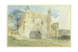 Kirkham Abbey, 1805-6 Giclee Print by John Sell Cotman