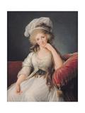 Louise-Marie Adelaide, Duchesse D'Orleans Impression giclée par Elisabeth Louise Vigee-LeBrun