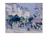 Paris Plage Giclee Print by Samuel John Peploe