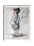 Nichol: Surgeon, Bath, 1801 Giclee Print by John Nixon
