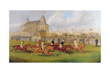 A Horse Race in Victoria Park, 1874 Giclee Print by Edward Benjamin Herberte