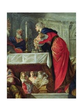 Presentation of Christ at the Temple (Detail) Giclee Print by Jacopo Robusti Tintoretto