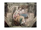 Sistine Chapel Ceiling: Erythraean Sibyl, 1508-12 Giclee Print by  Michelangelo Buonarroti