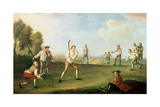 Cricket in the Artillery Ground, 1743 Giclee Print by Francis Hayman