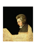 Portrait of Wolfgang Amadeus Mozart (1756-91) at the Piano, 1789 Giclee Print by Joseph Lange