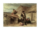 An Irish Eviction Giclee Print by Frederick Goodall