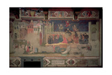 Allegory of Bad Government, 1388-40 Giclee Print by Ambrogio Lorenzetti