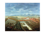 Panoramic View of Charlton Park, c.1745 Giclee Print by Thomas Robins
