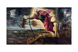 The Creation of the Animals Giclee Print by Jacopo Robusti Tintoretto