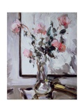 Still Life with Roses Giclee Print by Samuel John Peploe