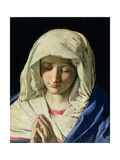 Madonna at Prayer Giclee Print by  Giovanni Battista Salvi da Sassoferrato