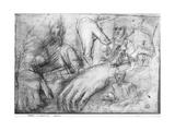 Study of Hands for a Portrait of Ippolito Della Rovere Giclee Print by Federico Fiori Barocci or Baroccio
