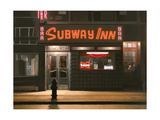 Subway Inn, 1989 Giclee Print by Max Ferguson
