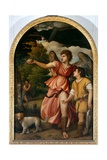 The Archangel and Tobias Giclee Print by  Titian (Tiziano Vecelli)