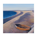 The Chesil Beach, 2000 Giclee Print by Liz Wright