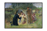 The Good Samaritan, 1899 Giclee Print by William Small