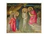 The Baptism of Christ Giclée-tryk af Giovanni dal Ponte