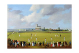 Cricket Match at Christchurch, Hampshire, c.1850 Giclee Print by Thomas Musgrave Joy