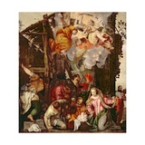 Adoration of the Shepherds Giclee Print by Paolo Veronese