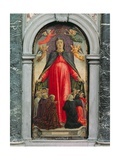 Triptych of the Madonna of the Misericordia, Central Panel, 1473 Giclée-Druck von Bartolomeo Vivarini
