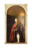 St. Louis of Toulouse (1274-97) from an Organ Shutter from the Church of San Bartolomeo, 1508-09 Giclee Print by Sebastiano del Piombo