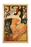 Poster Advertising 'Job', 1898 Giclee Print by Alphonse Mucha