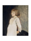 Gabrielle Cross, the Artist's Niece, 1919 Giclee Print by Glyn Warren Philpot