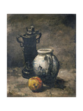 Still Life with Jug, 1875-85 Giclee Print by Auguste Theodule Ribot