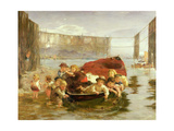 The Young Trawlers Giclee Print by William McTaggart