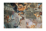 The Entry of St. Ignatius into Paradise, c.1707 (Detail) Giclee Print by Andrea Pozzo