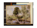 The Willows Giclee Print by Edward Arthur Walton