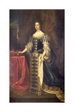 Queen Mary II Giclee Print by Godfrey Kneller