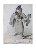 """My Lambs to Sell!, My Lambs to Sell!"", Toby Jones, a Boy That Sells Toys at Bath, 1801 Giclee Print by John Nixon"