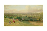 Cheltenham from Leckhampton Hill, c.1840 Giclee Print by  English School