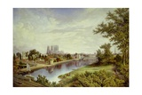 York from Scarborough Railway Bridge Giclee Print by John Bell