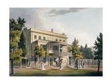 Sydney Gardens, Bath 1805 Giclee Print by John Claude Nattes